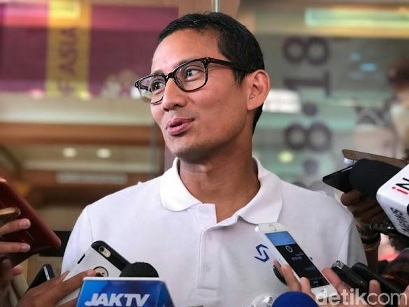 Habiburokhman: Sandi Mundur dari Wagub DKI Jika Maju Pilpres