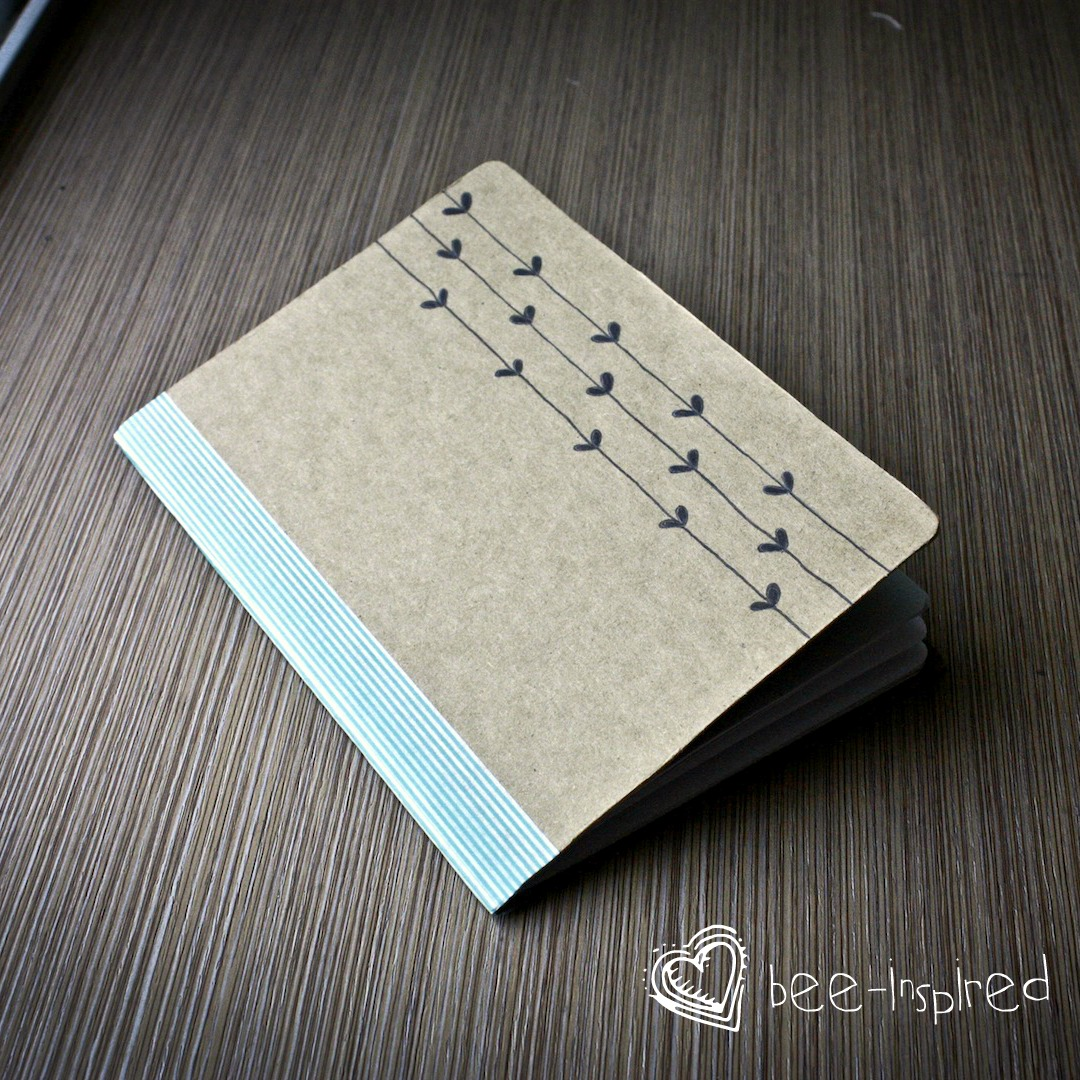 DIY notebook/ sketchbook/ whatever-I-want-to-use-it-for ...