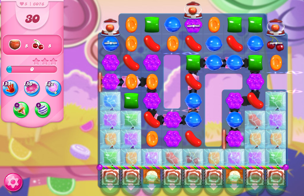Candy Crush Saga level 6076