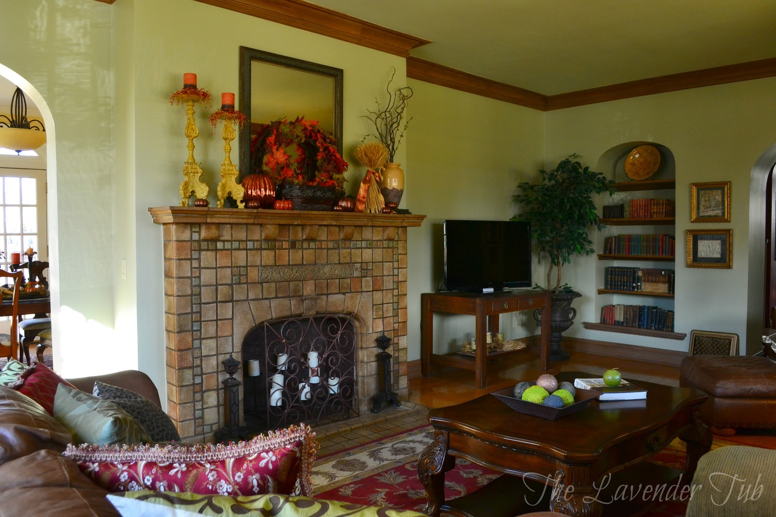 The Lavender Tub 1929 Prairie Home Living Room Reveal