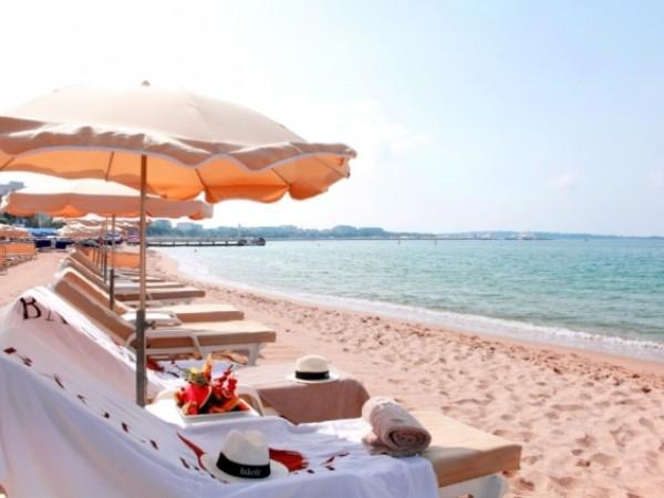 Praias na lua de mel em Cannes