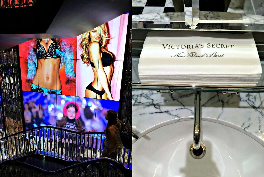 Mittwochs mag ich, London, Victoria's Secret New Bond Street London, Ausgehtipps Wochenendtipps London, Kurztrip