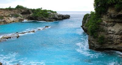 Pantai Blue Lagoon, Objek Wisata yang Asri