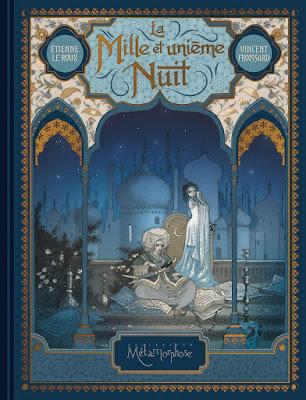 """couverture de """"La Mille et unième Nuit"""" par Etienne Le Roux et Vincent Froissard chez Soleil"""