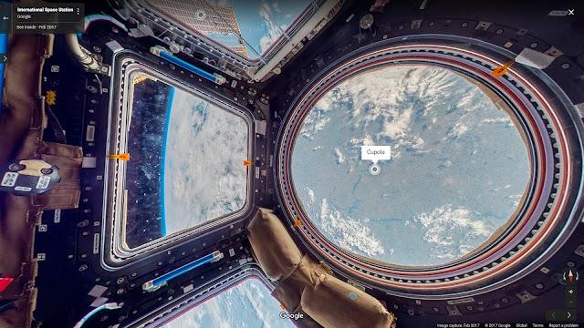 Tham quan bên trong Trạm Không gian Quốc tế (ISS) qua màn ảnh nhỏ. Ảnh chụp màn hình.