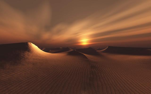 Papel de parede Paisagem no Deserto