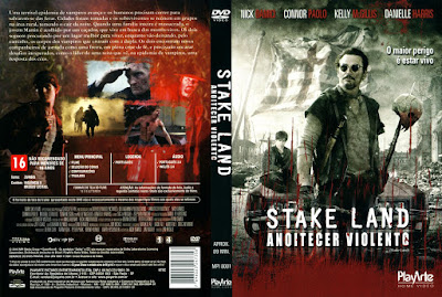 Filme Anoitecer Violento (Stake Land) DVD Capa