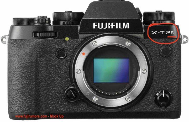 Вот так может выглядеть Fujifilm X-T2S