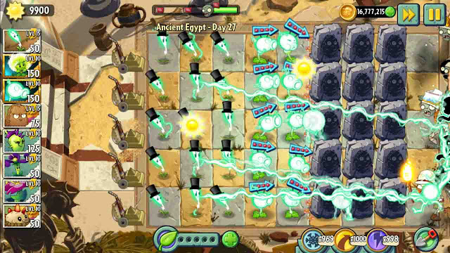 cheat plants vs zombie 2 android unlimited coin
