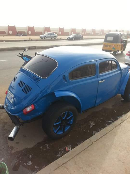 Photos Of A Specially Modified Volkswagen Car Spotted In Kano State