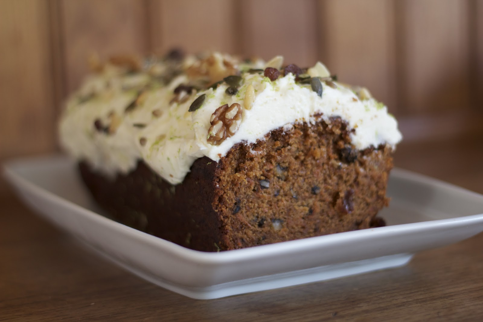 Carrot Cake Recipe Uk No Nuts: Milli's Kitchen: Carrot Cake