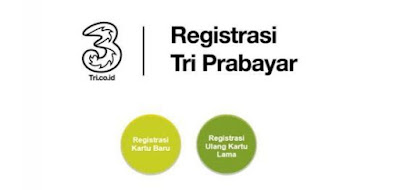 Cara Registrasi Kartu Three