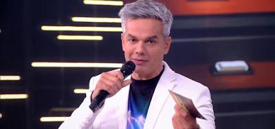 Otaviano Costa no Tá Brincando de 9 de março, penúltima edição do seu programa solo na Globo
