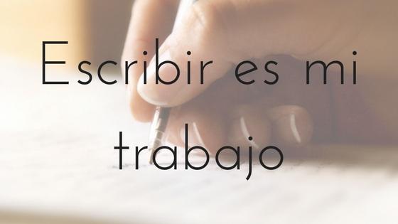 Escribir es mi trabajo_Apuntes literarios de novela romántica