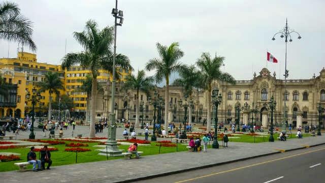 Centro Histórico em Lima