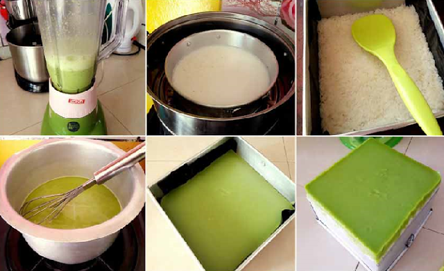 Resep Membuat Kue Talam Srikaya Atau Srimuka. Enak, Legit dan Bikin Nagih Bund ...
