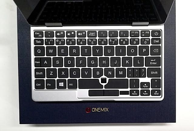 OneMix 2Sのキーボードレイアウト