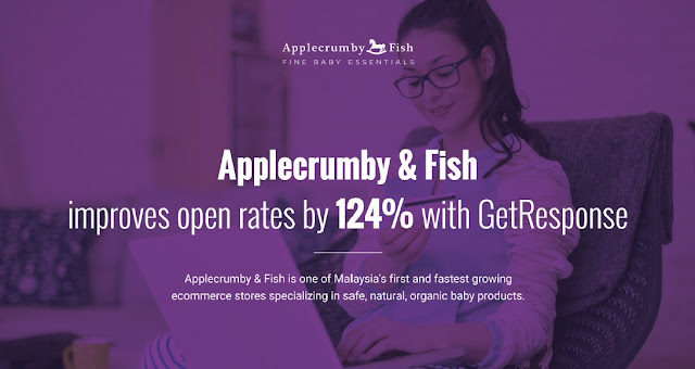 Applecrumby & Fish improves open rates by 124% with GetResponse