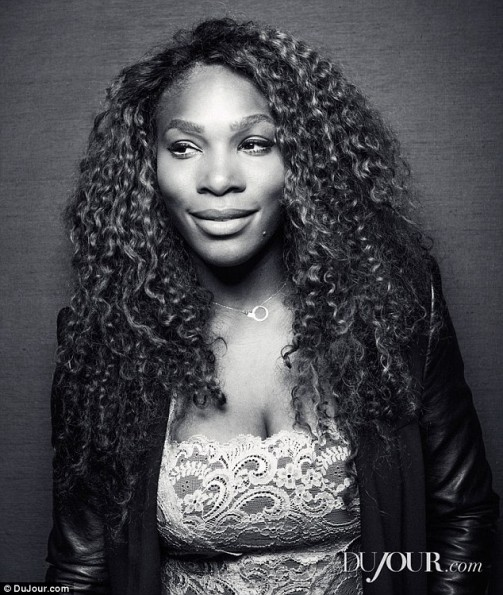 serena williams on her boobs and body