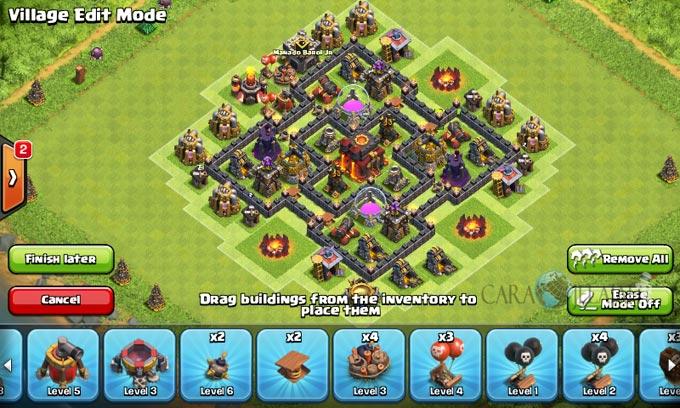 pertahanan terbaik untuk base war th 6 di clash of clans 23