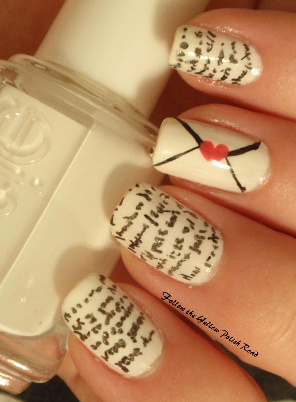 Follow the Yellow Polish Road: Girly Girl Nail Art ...