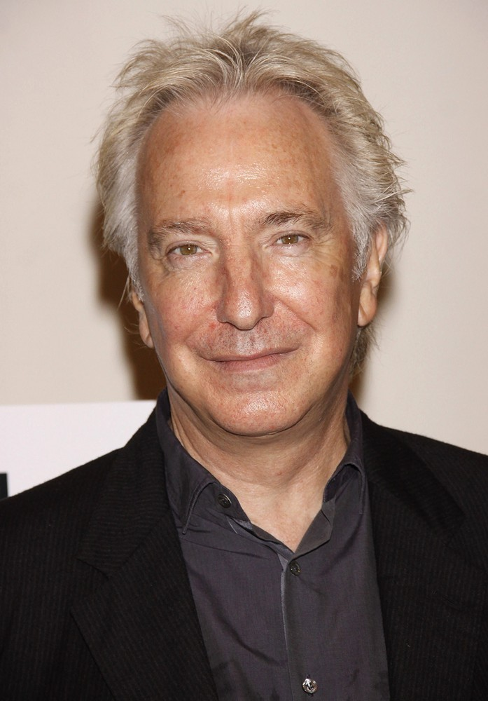 Alan Rickman Hairstyle Men Hairstyles Men Hair Styles