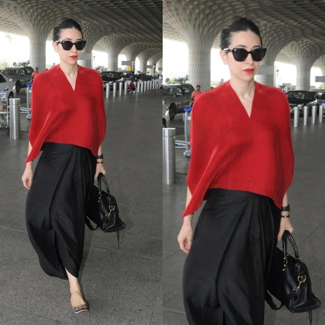 Karisma Kapoor's Airport Look