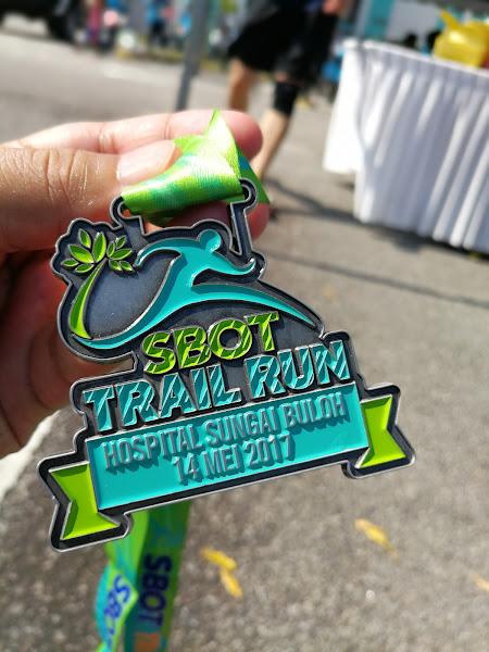 SBOT Trail Run Medal Depan