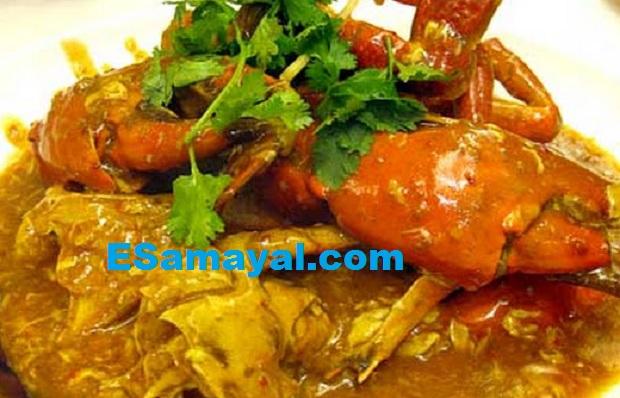 மிளகு நண்டுக் குழம்பு செய்முறை | Pepper Crab Recipe !