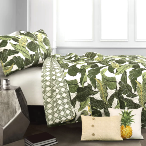 Iconic Palm Leaf Print Bedding