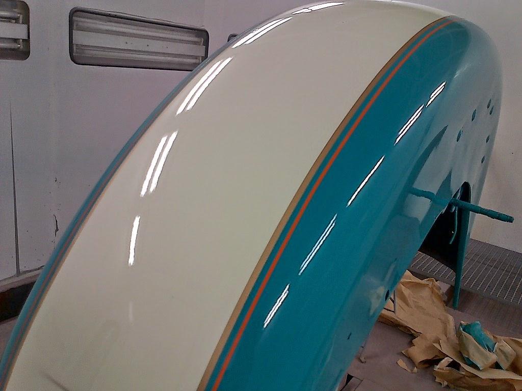 gb harley turquoise double filets carrosserie folie. Black Bedroom Furniture Sets. Home Design Ideas