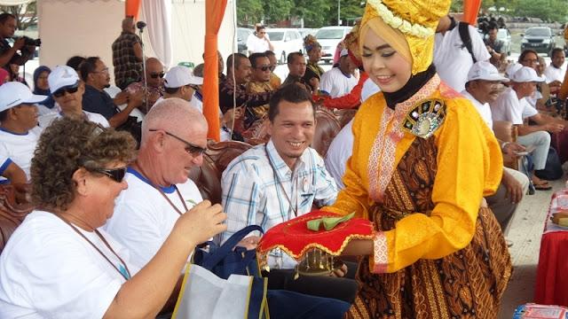 Para Yachter Diperlakukan Istimewa di Sabang Marine Festival