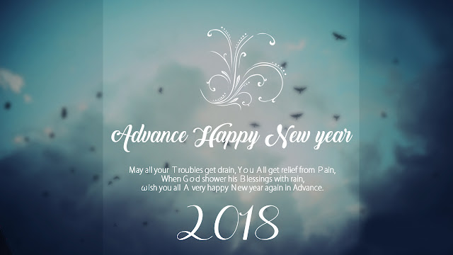 Latest Advance Happy New Year Wishes