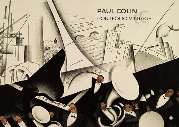 Paul Colin artista francês de cartazes