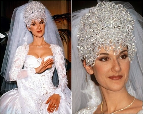 Celine Dion Wedding dress