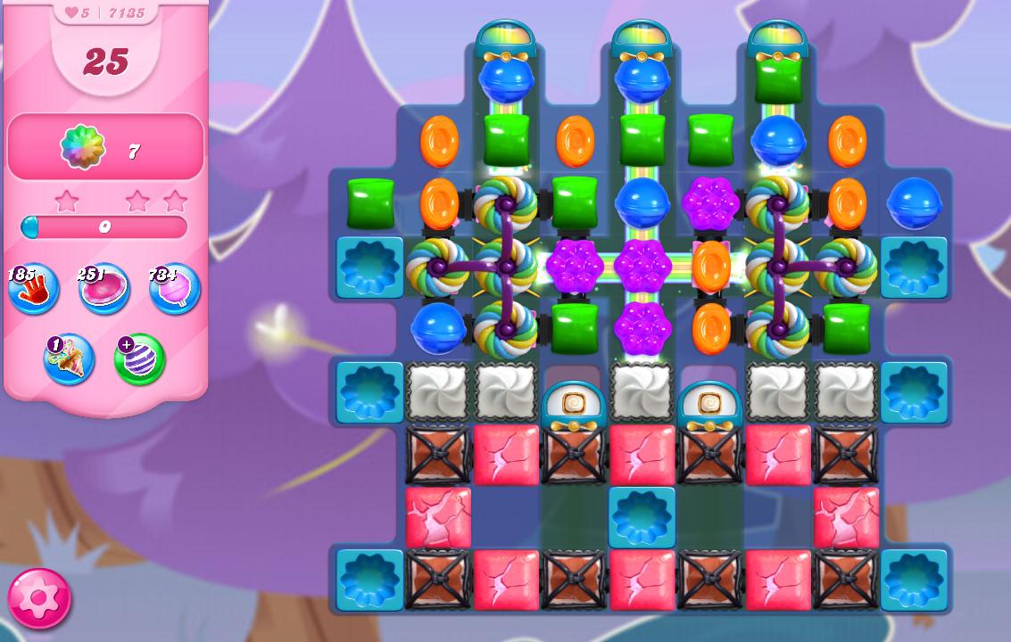Candy Crush Saga level 7135