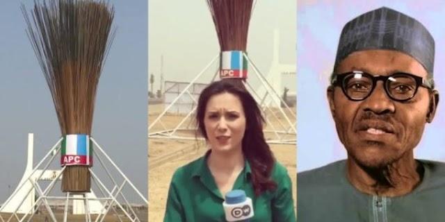 """APC broom has failed to sweep away corruption in Nigeria"" – Foreign Journalist mocks Buhari"