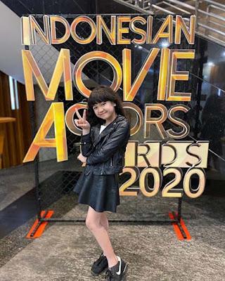Queen Gendis Kinanti di Indonesia Movie Awards 2020
