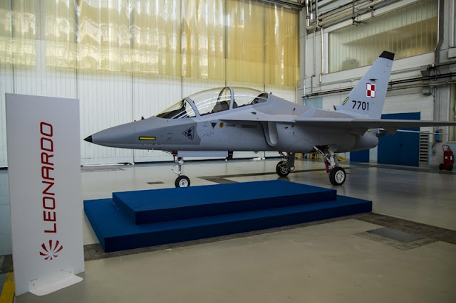 FIRST POLISH M-346 IS UNVEILED