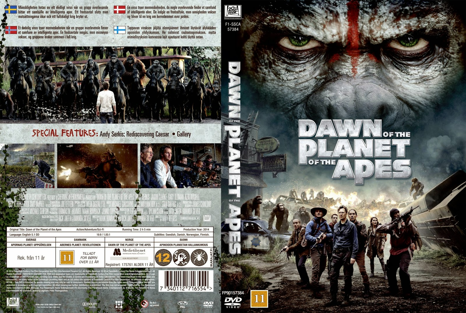 Archives Of The Apes: Dawn Of The Planet Of The Apes on ...