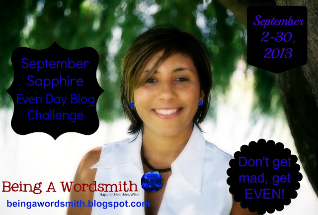 September Sapphire Even Day Blog Challenge