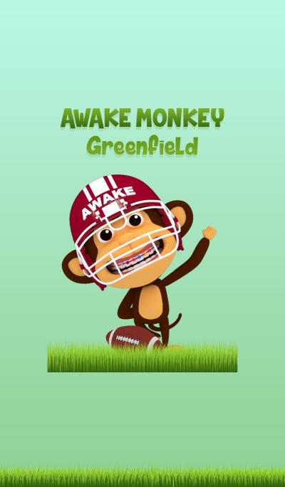 Awake Monkey Greenfield