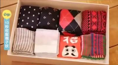 สุดยอดวิธีพับถุงเท้า จัดเก็บเป็นระเบียบเลือกง่าย - Fold Socks The Right Way