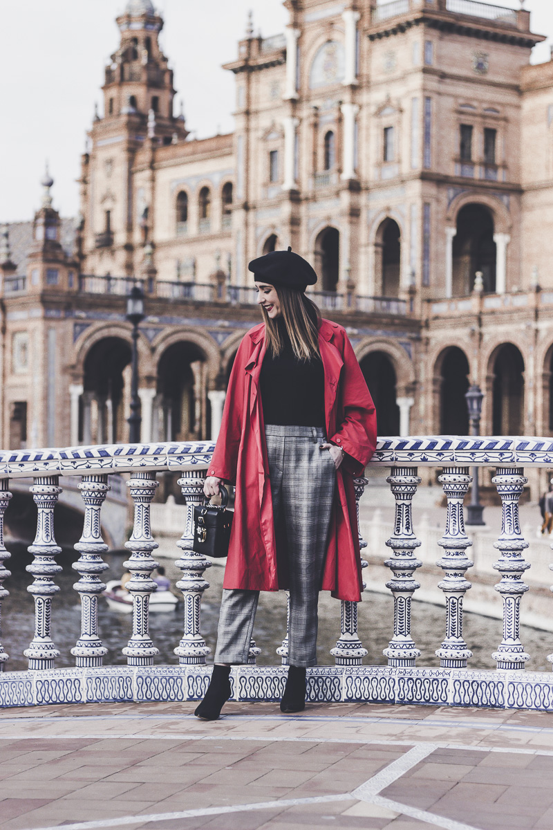 red trench