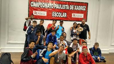 Escolas Públicas de Registro-SP são destaque no Paulista Escolar de Xadrez