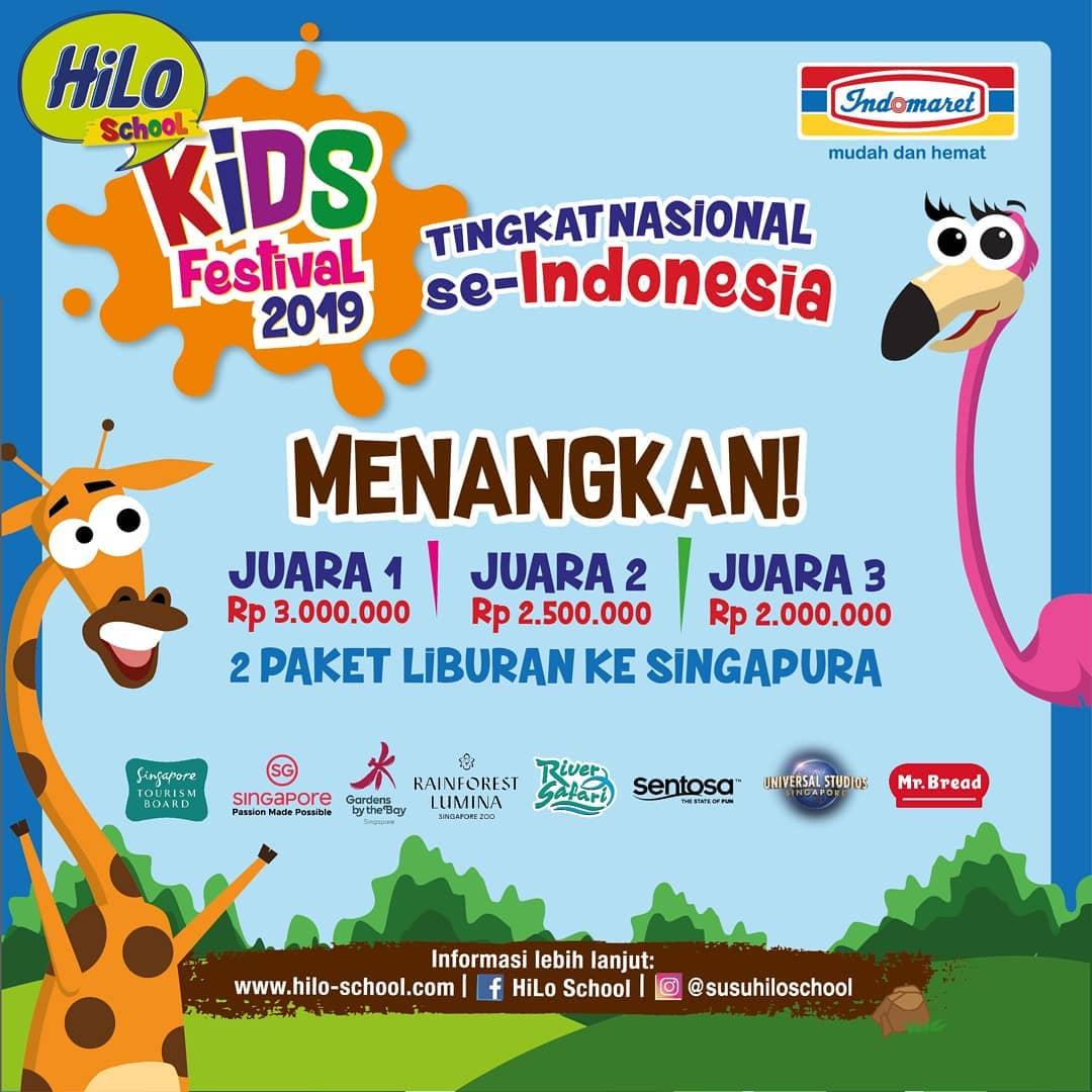 #Indomaret - #Promo Event Hilo Kids Festival 2019 (Lampung, Bandung & Medan)