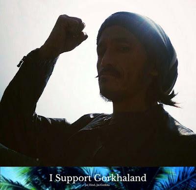 Biren Bhujel for Gorkhaland
