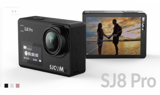 SJCAM SJ8 Pro Announced; Dual-Screen, Ambarella H22S85, Sony IMX377