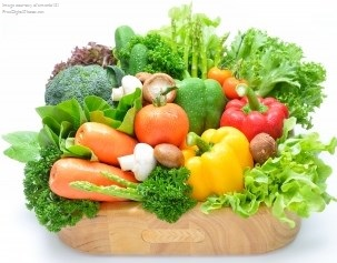 Vegetables and Fruits for hair, skin and nail health