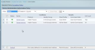 Cisco ACS setting authorization rule